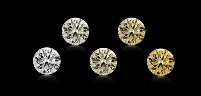 Diamantes de color tenue: Una opción económica