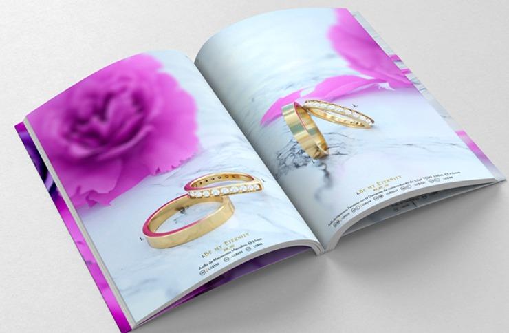 Como leer las características y costos de tu anillo en el catálogo