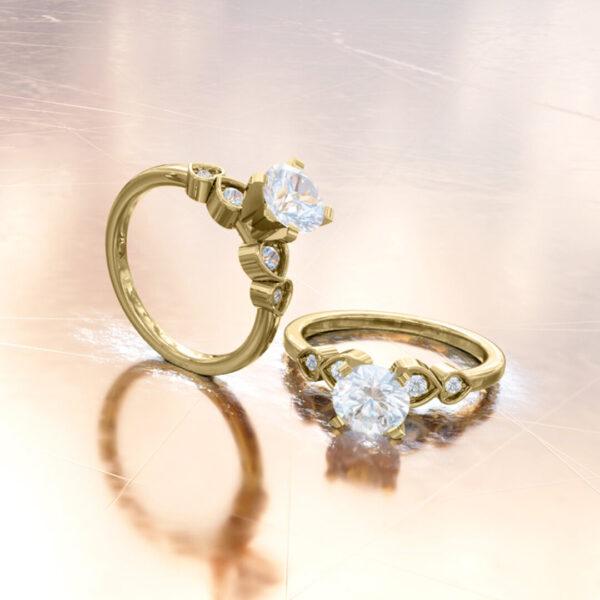 anillo-trinidad-oro-amarillo-18k-venecia
