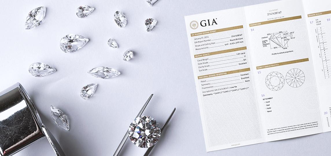diamonds GIA