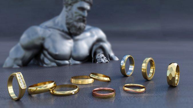 Top 5 anillos de Matrimonio para Hombre